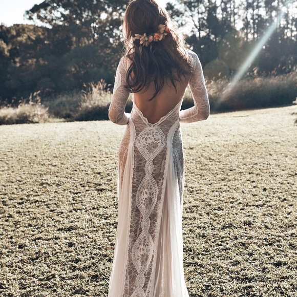 Dresses & Skirts - Boho Wedding Dress